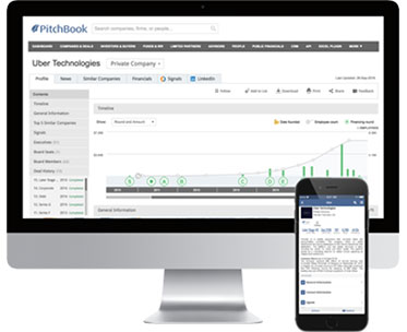 The PitchBook Platform